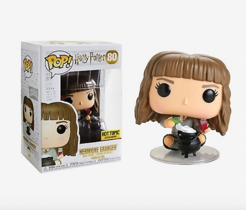 Funko Pop Harry Potter #80 Hermione Granger Seated W Cauldron Exclusiva Ht-Harry Potter-1
