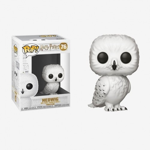 Funko Pop Filme -  Harry Potter- Hedwig 76 - Harry Potter - #76