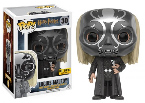 Funko Pop Harry Potter Lucius Malfoy Máscara Da Morte Exclusivo Ht-Harry Potter-30