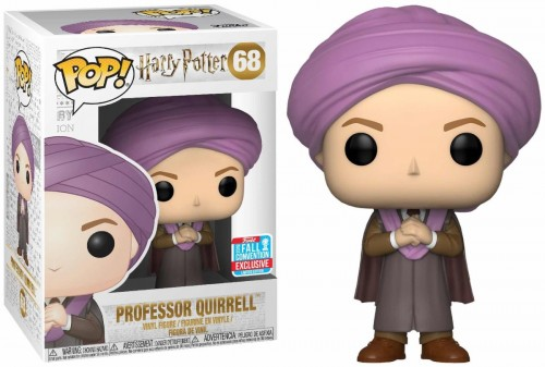 Funko Pop Harry Potter Professor Quirrell Exclusivo Nycc18-Harry Potter-68