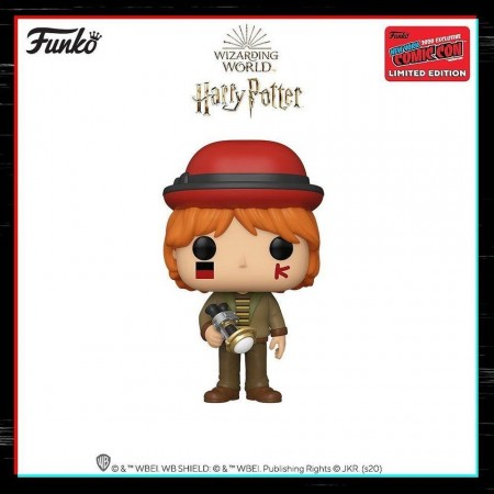 Funko Pop Harry Potter Ron Weasley Exclusivo Nycc 2020-Harry Potter-121