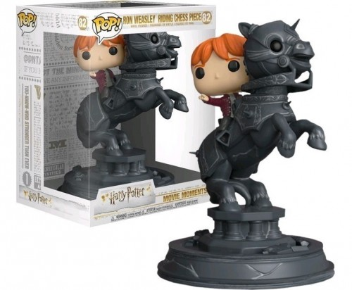 Funko Pop Harry Potter Series 5 - Ron Riding Chess Piece-Harry Potter-82
