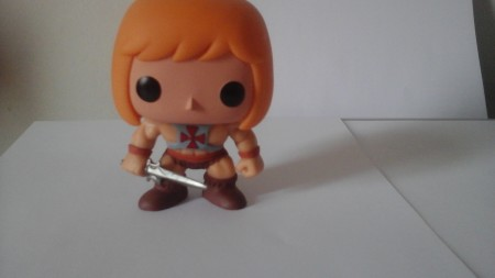 Funko Pop He - Man Loose-MASTERS  OF THE UNIVERSE-1