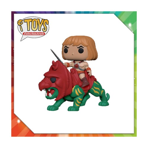 Funko Pop He-man On Battle Cat-Masters of the Universe-100