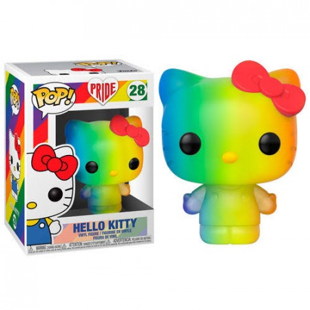 Funko Pop Animação - Pride - Hello Kitty  28 - Hello Kitty - #28