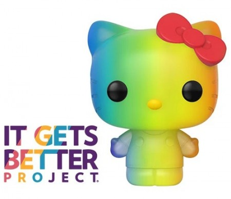 Funko Pop Hello Kitty Pride 2020 Rainbow-Hello Kitty-100