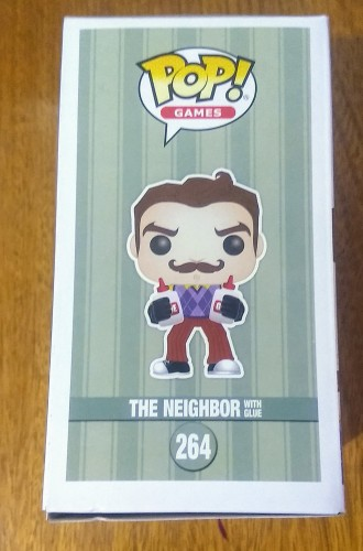 Funko Pop Hello Neighbor With Glue Walmart Exclusive - Hello Neighbor - #264