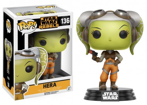 Funko Pop Hera Star Wars Rebels-Star Wars Rebels-136