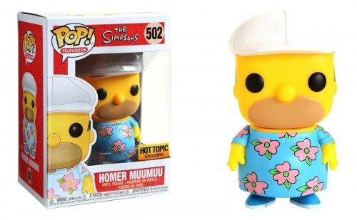 Funko Pop Homer Muumuu Exclusivo Hottopic-The Simpsons-502