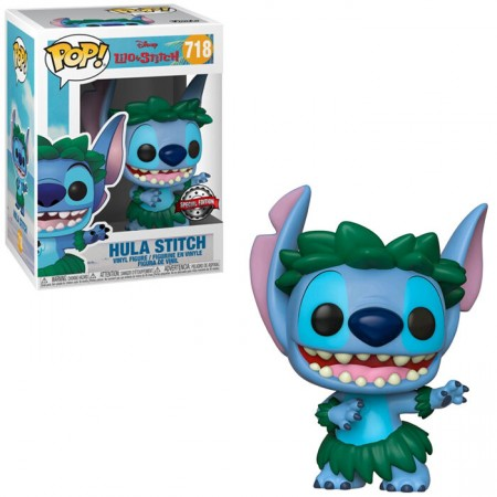 Funko Pop Hula Stitch - Exclusivo Hot Topic-Lilo E Stitch-718