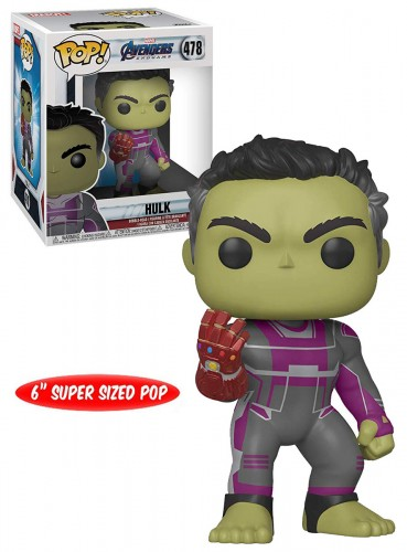 Funko Pop Hulk 478 - Marvel Avengers - #478