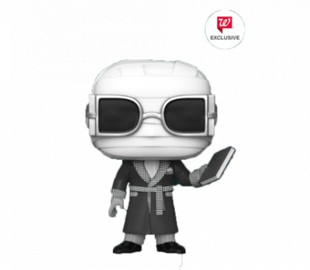 Funko Pop Invisible Man (black And White)-Universal Studios Monsters-1
