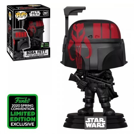 Funko Pop Series/filme - Star Wars- Boba Fett297 ( Eccc 2020)-Stars Wars-297