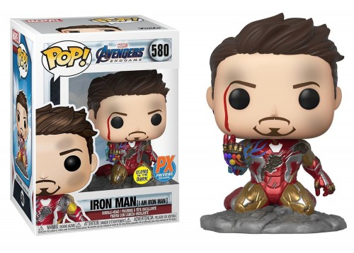 Funko Pop Iron Man (i Am Iron Man) Exclusivo Px-Funko-580