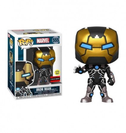 Funko Pop Iron Man Exclusive-Marvel-555