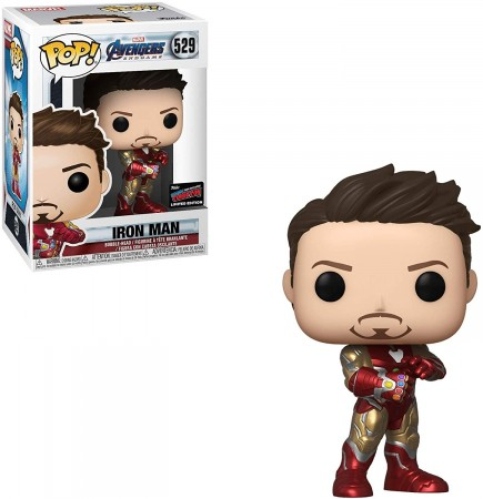 Funko Pop Iron Man Exclusivo Nycc2019-Vingadores - Ultimato-529