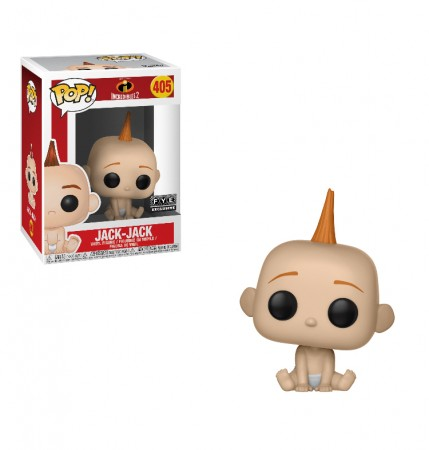 Funko Pop Jack-jack Exclusive Fye-Os Incríveis-405