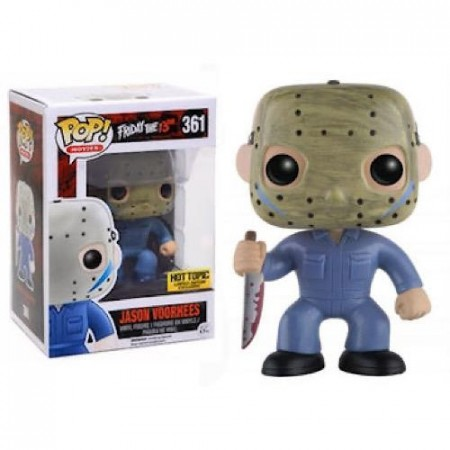 Funko Pop Jason Voorhees Hot Topic-Friday The 13th-361