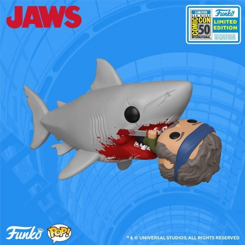 Funko Pop Jaws Sdcc 2019-SDCC 2019-100