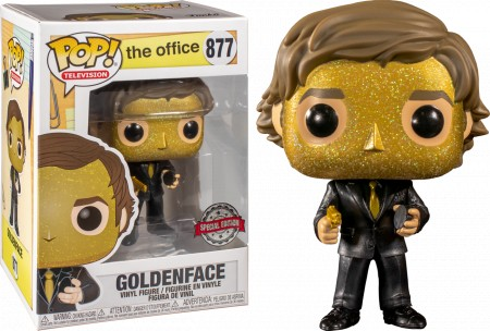 Funko Pop Jim Halpert As Goldenface-The Office-877