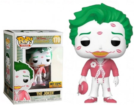 Funko Pop Joker Exclusivo Hottopic-DC Bombshells-170