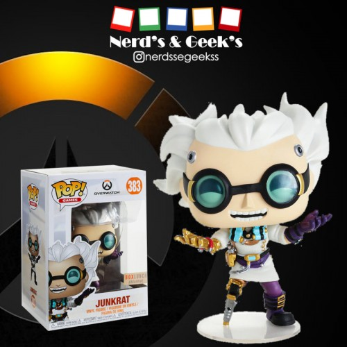 Funko Pop Junkrat Exclusivo Boxlunch-Overwatch-383