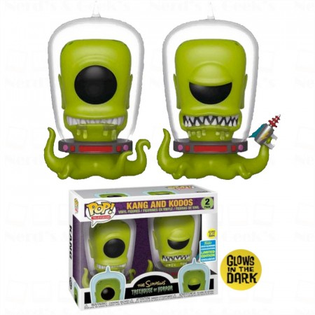 Funko Pop Kang And Kodos Glow In The Dark - Excl. Sdcc2019-The Simpsons-2