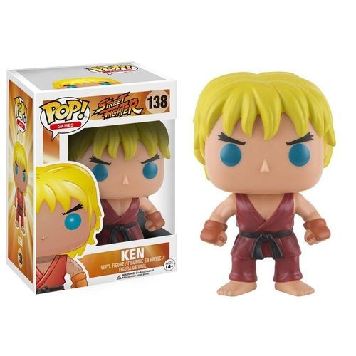 Funko Pop Ken Street Fighter-Street Fighter-138