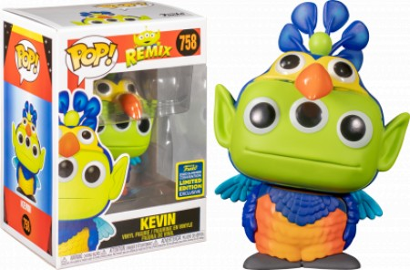 Funko Pop Kevin Sdcc 2020-Alien Remix-758