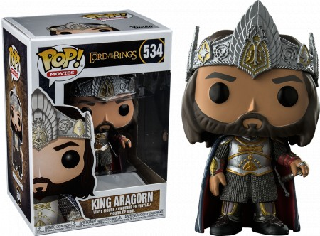 Funko Pop King Aragorn-Lord of the Rings-534