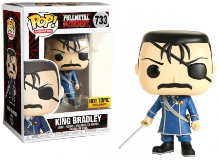 Funko Pop King Bradley Hottopic-Fullmetal Alchemist-733