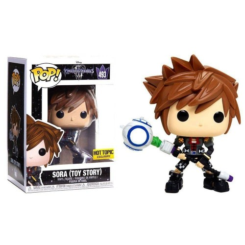 Funko Pop Kingdom Hearts Sora Toy Story-Kingdom Hearts-493
