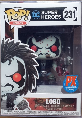Funko Pop Lobo Blood Versão Sangue Dc Comics (novo Na Caixa) #231-DC Super Heroes-1