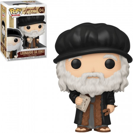 Funko Pop Leonardo Da Vinci - Atc-Artists-4