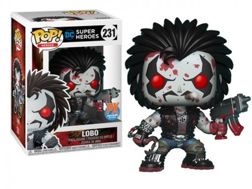 Funko Pop Lobo Exclusivo Px Insider-Dc Comics-231