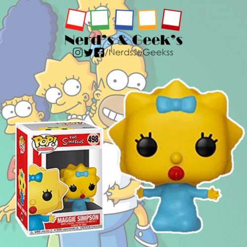 Funko Pop Maggie Simpson-The Simpsons-498