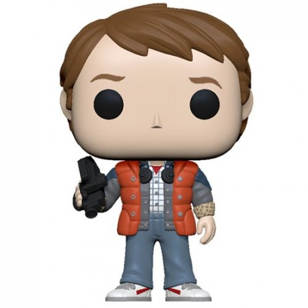 Funko Pop Marty In Puffy Vest-Back to the Future-100
