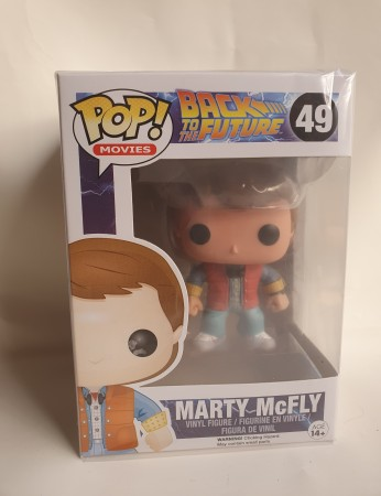 Funko Pop Marty Mcfly - Back To The Future - #49