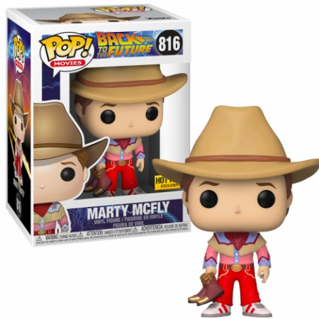 Funko Pop Marty Mcfly Hot Topic-Back to the Future-816
