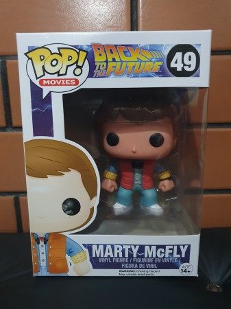 Funko Pop Marty Mcfly-Back to the Future-49
