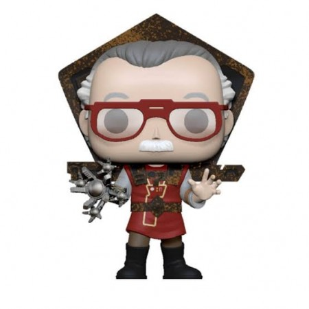 Funko Pop Marvel - Stan Lee In Ragnarok Ouyfit-marvel-1