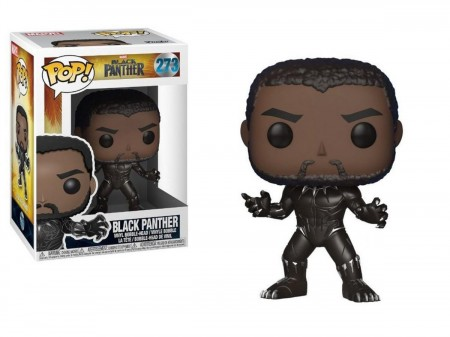 Funko Pop Marvel Black Panther-Pantera Negra-273