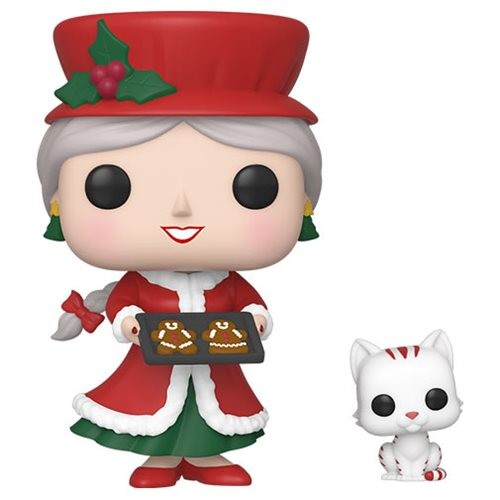 Funko Pop Mrs. Claus-Peppermint Lane-100