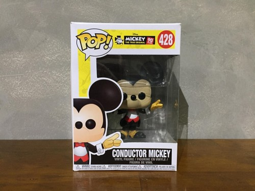 Funko Pop Mickey Conductor-Mickey 90 anos-428