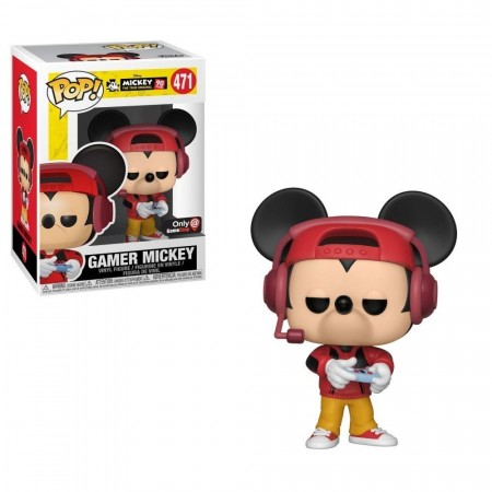 Funko Pop Mickey The True Original  - Gamer Mickey 471-Mickey the true Original - 90 years-471