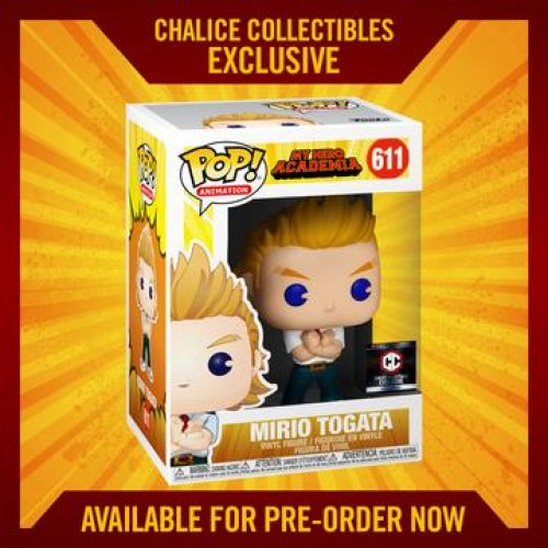 Funko Pop Mirio Togata Exclusivo-My Hero Academia-611