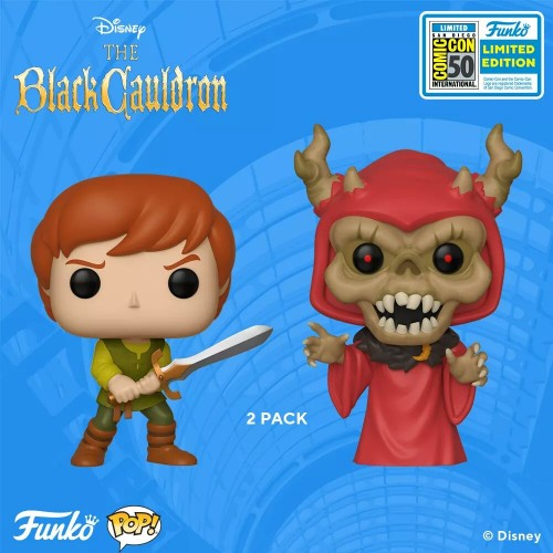 Funko Pop Taran And Horned King Sdcc 2019-SDCC 2019-100