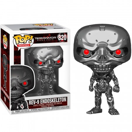 Funko Pop Movies ! Rev-9 Endoskeleton-Terminator - Dark Fate-820