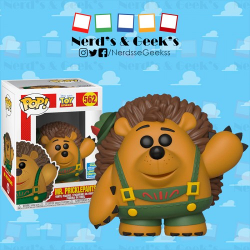 Funko Pop Mr. Pricklepants Exclusivo Sdcc2019 - Toy Story - #562