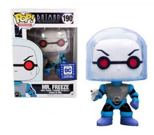 Funko Pop Mr Freeze Exclusivo Legion Of Collectors-Batman The Animated Series-190